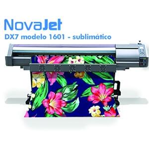 Impressora de sublimação DX7 modelo 1601