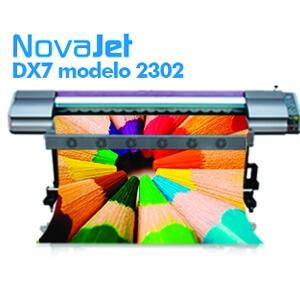Impressora eco-solvente DX7 modelo 2302