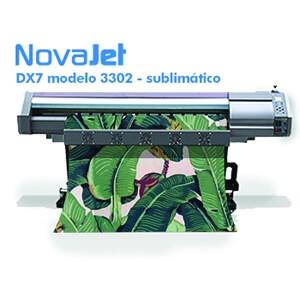 Impressora de sublimação DX7 modelo 3302